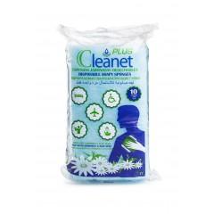 Губка пенообразующая одноразовая  CLEANET+ PLUS, 12х20см